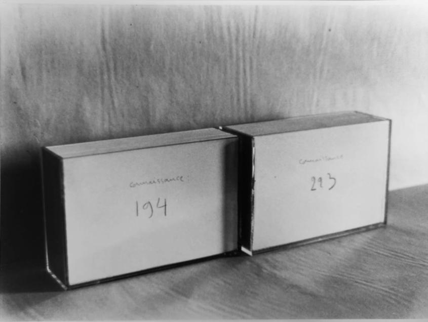 « Testeur spatio-temporel » - Galerie MTL - Bruxelles - 1978