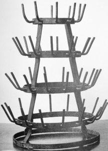 « Porte-bouteilles », Marcel Duchamp, 1921, Collection Jean-Jacques Lebel