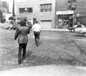 """Following Piece"", (Street Work), Vito Acconci, 1969"