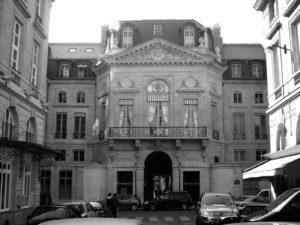 Le_Ministère de la Culture_Rue_Valois