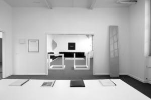 Appartement de Ghislain Mollet-Viéville reconstitué au musée d'art moderne et contemporain de Genève (Mamco), depuis 1994