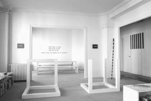 Appartement de Ghislain Mollet-Viéville de 1975 à 1992 au 26, rue Beaubourg 75003 Paris : collection d'art minimal & conceptuel