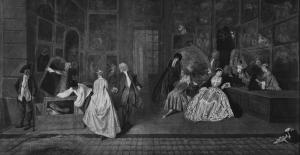 Antoine Watteau - L'Enseigne de Gersaint - 1720