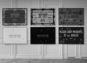 Marcel Broodthaers - Musée d'Art Moderne - Département des aigles
