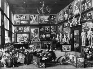 Willem van Haecht - Le cabinet de Cornelis van der Geest - 1593